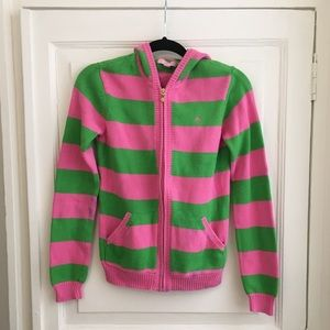 Lilly Pulitzer Sweater Hoodie Size M